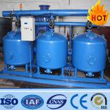 Filtro de arena del cuarzo de la instalación de tratamiento de la filtración del agua bien
