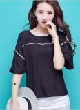 여자의 형식 시퐁 t-셔츠 블라우스