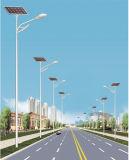 Luz solar para la lámpara de 24W LED con la batería de Li