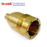 CNCの回転機械化の真鍮の空気油圧付属品