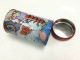 Коробка олова круглой формы 3 ярусов для коробки подарка печенья/конфеты/шоколада/чая/кофеего