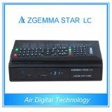 空気デジタル低価格のZgemmaの星LCのサテライトレシーバのLinux OS E2 DVB-C 1のチューナー