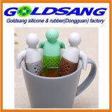 Selling popolare Lazy Mr. Tea Silicone Tea Infuser con Removable Hands