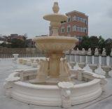 De marmeren Fonteinen van de Steen met Standbeeld voor Tuin