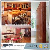 Countertops слябов/плиток шикарных строительных материалов красные мраморный