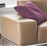 Projeto moderno L sofá do couro da forma para o uso da casa (SF023)