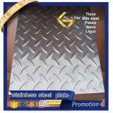 Piatto Checkered dell'acciaio inossidabile 304