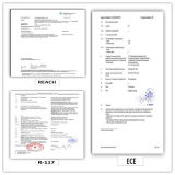 275/80r22.5 (ECOSMART 62) mit Qualitäts-LKW der Europa-Bescheinigungs-(ECE-REICHWEITE-KENNSATZ) u. Bus-Radialgummireifen