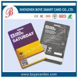 La tarjeta de la lealtad de la calidad de miembro con graba y la impresión 4c