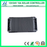 Intelligentes 12/24V Voltage Auto 15A Solar Regulator/Solar Charge Controller (QWP-VS1524U)