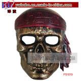 Máscara Predator Oro de Halloween vestido de plata del traje de TV Fantasía (PS1021)
