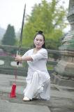 Trajes finos de alto grado de la ji del Tai del ocio del lino del resorte de las mujeres del Taoism y de la sección del verano