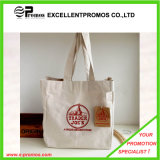 Sacs d'emballage imprimés par logo personnalisés d'achats de coton (EP-B9098B)
