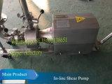 5.5kw en-línea de corte de la bomba (línea en mezclador de cizallamiento)