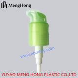 Bomba plástica da loção da cor verde