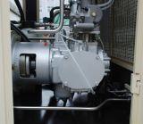 ネジ式および良い業績の小型オイル情報処理機能をもったコントローラが付いている自由な無雑音ねじ空気圧縮機