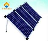 太陽電池パネルを3折る60-180Wポータブル