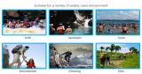 De nieuwe In het groot 500d Zak van het Pak van Ripstop Nylon Oceaan Waterdichte Droge