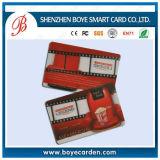 13.56 smart card compatível branco do cartão RFID CI do PVC do megahertz
