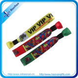 Wristband de tissu de festival de musique de sublimation de transfert de chaleur