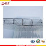 紫外線上塗を施してあるカラーPolycarbonatの販売のためのプラスチック屋根ふきシート