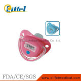 Termômetro eletrônico médico do bocal do Pacifier do bebê da cor