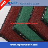 Telhas de borracha recicl/telhas de borracha da borracha do revestimento Tiles/Crumb campo de jogos ao ar livre
