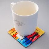 Coasters da cortiça do MDF do Sublimation da decoração da tabela de China