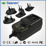 12W multi-Pin AC Adaptor (RoHS, efficiencyniveau VI)