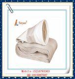 Da alta temperatura saco de filtro da poeira da fibra de vidro do alcalóide não com o PTFE expandido para a planta do cimento