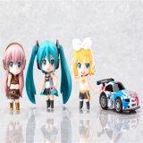 Mini jouets en plastique de véhicule de qualité de mode de fille de vinyle bon marché en gros de véhicule