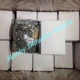 MetallsicherheitsschloßPin der Qualitäts-#1 silberner