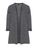 줄무늬 저어지 블레이저 코트 여자 재킷