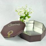 Подгонянная логосом выдвиженческая Mint коробка олова