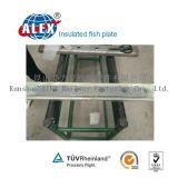 Fishplate isolado aprovado GV do trilho