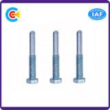 Pin головки шестиугольника стали углерода 4.8/8.8/10.9 M6/Galvanized крепежной детали фланца/вал/винт