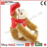 Valentinstag-Geschenk-angefüllte Tier-Plüsch-Gorilla-Spielzeug für Mädchen