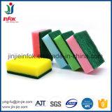 (YF-SP05) Cuisine colorée nettoyant le récureur lourd d'éponge