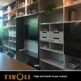 아파트 Tivo-009VW를 위한 주문을 받아서 만들어진 싼 가정 가구 현대 옷장 목제 부엌