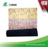 Neue neigende Mikro-Veloursleder Fußboden-Matten-Teppich-Wolldecke mit Gummischutzträger