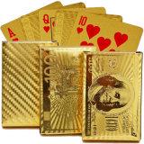 Покер сусального золота с случаем подарка