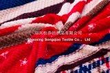 100% poliéster Jacquard Impreso franela Manta / Manta Honeycomb Impreso