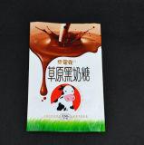 Customzied Transperant lamellierte Fastfood- Reißverschluss-Beutel 3 Schichten aufrechte Plastiktasche für Süßigkeit-Paket mit Reißverschluss
