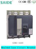 DC / AC 80A-1600A 3 polos 4 polos de caja moldeada Disyuntor Ns Nsx MCCB