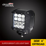 Barra clara Offroad Multi-Function do diodo emissor de luz do CREE 4X4 da fileira 36W do quadrilátero