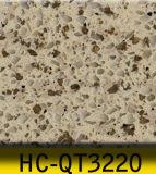Zurechtgeschnittener ausgeführter Quarz-künstlicher Quarz-Stein