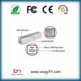 2600mAh移動式充電器李イオン電池携帯用力バンク