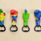 Abrelatas de botella de encargo colorido de vino del tornillo del corcho de la impresión de la insignia