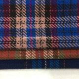 Sobretodo doble de la tela de las lanas de la verificación de la cara