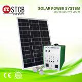 インバーター、電池、太陽電池パネルが付いている太陽エネルギーの供給500W